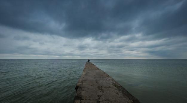 Otrada beach、オデッサ、ウクライナ
