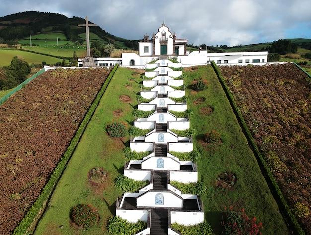 평화의 성모 nossa senhora da paz chapel vila franca do campo sao miguel island azores