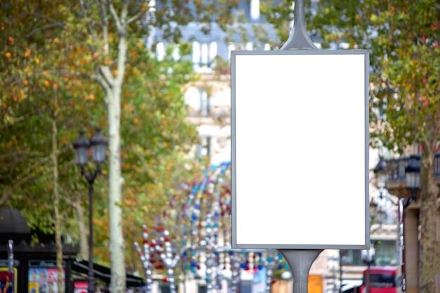 An outdoor billboard advertisement