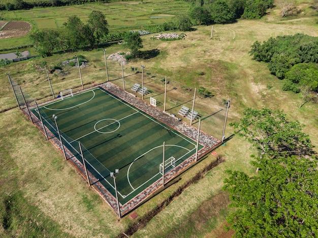 Outdoor futsal, soccer court