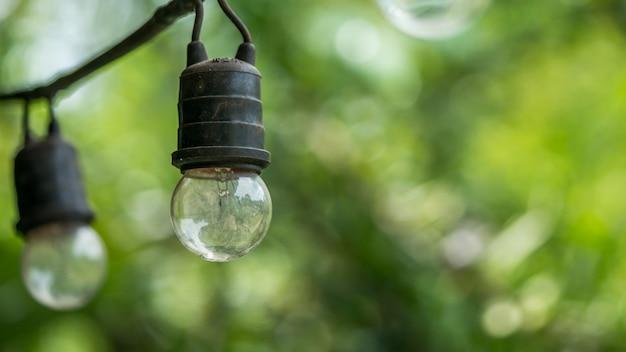 Outdoor lamp lighting