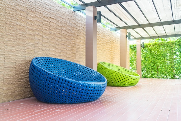 Outdoor With Circle Chair