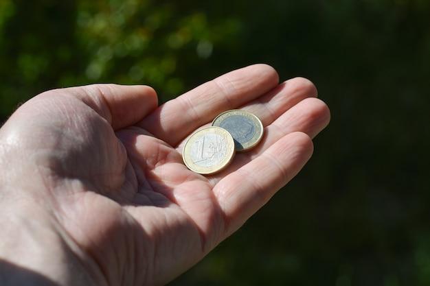 コインの貧困と手を伸ばした