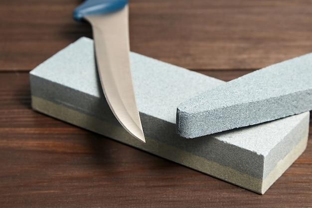 Овальные и прямоугольные двухслойные точильные камни