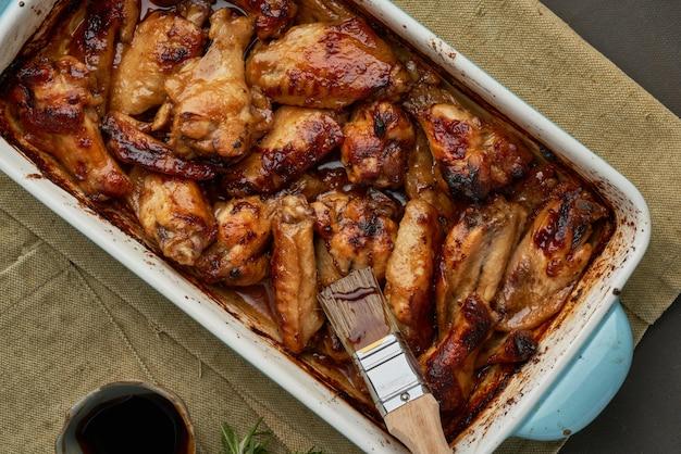 オーブン焼き鶏のマリネ