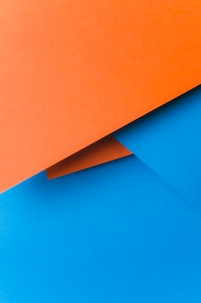An overhead view of abstract paper background