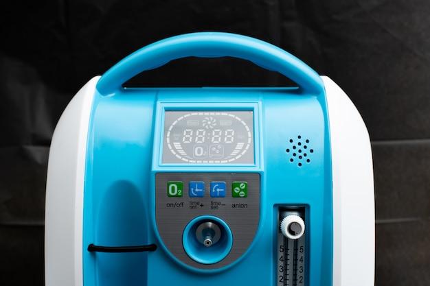Oxygen concentrator bar gauge measurement liter