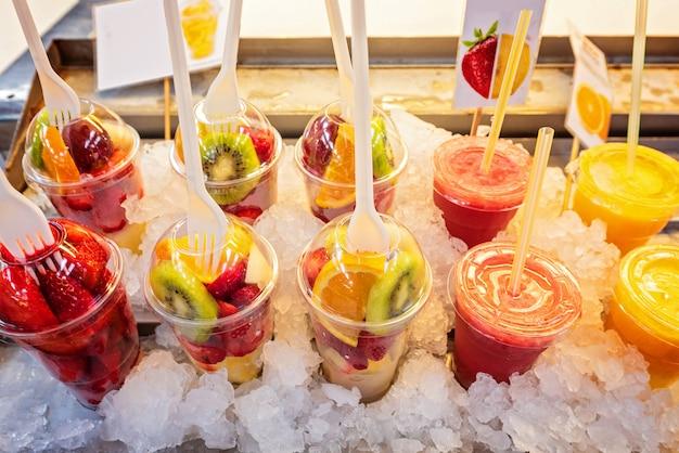 Pack of fresh fruits