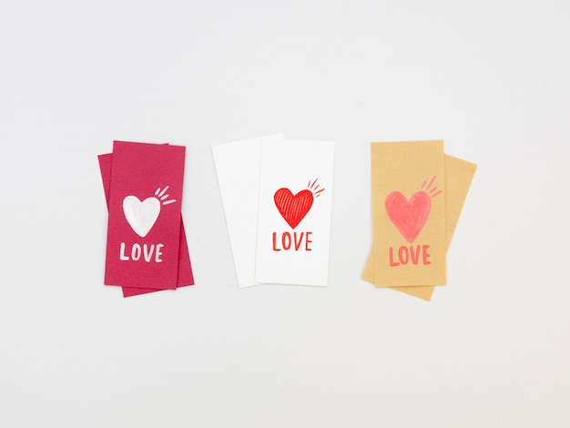 Pack of lovely valentine tags