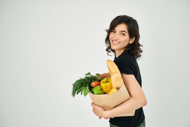 商品のパッケージ配達サービス配達野菜