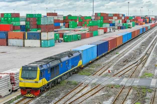 鉄道の梱包と分離輸出業者と輸入業者にサービスを提供する