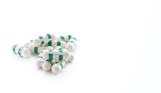 Упаковки таблеток и капсул лекарств