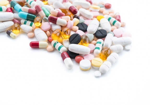 Packings of pills and capsules of medicines