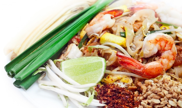 Pad thai is famous thai food