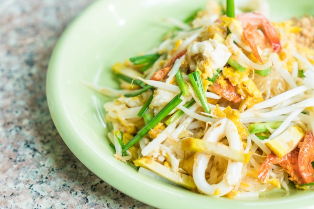 Pad thai , stir-fried noodles in thai style