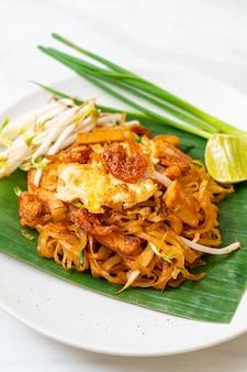 Pad thai - stir-fried rice noodles