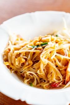 Лапша в тайском стиле, pad тайская