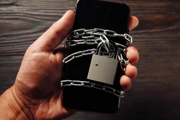 Замок на смартфоне
