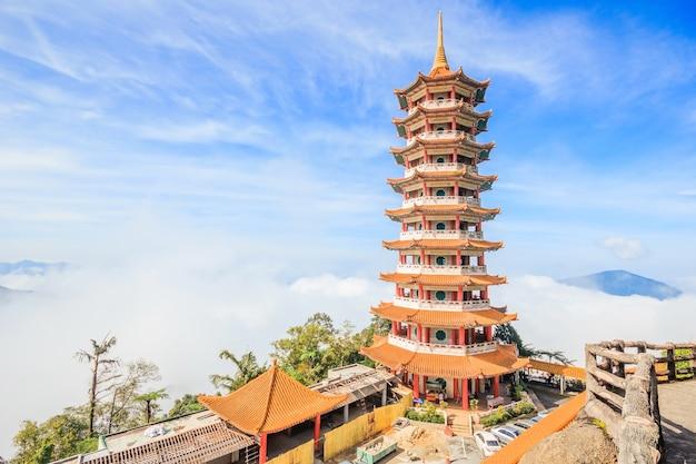 Пагода в храме чин-свид, гентинг-хайленд