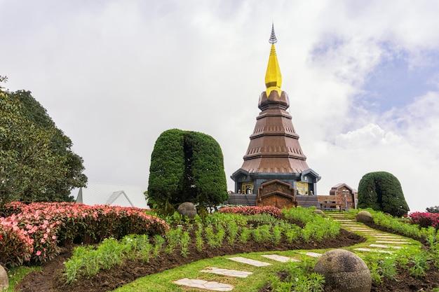 Pagoda on the top mountain