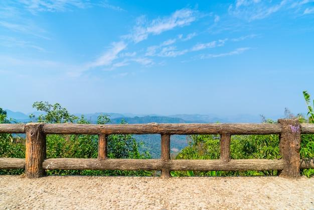 Pai view point in mae hong son, thailand