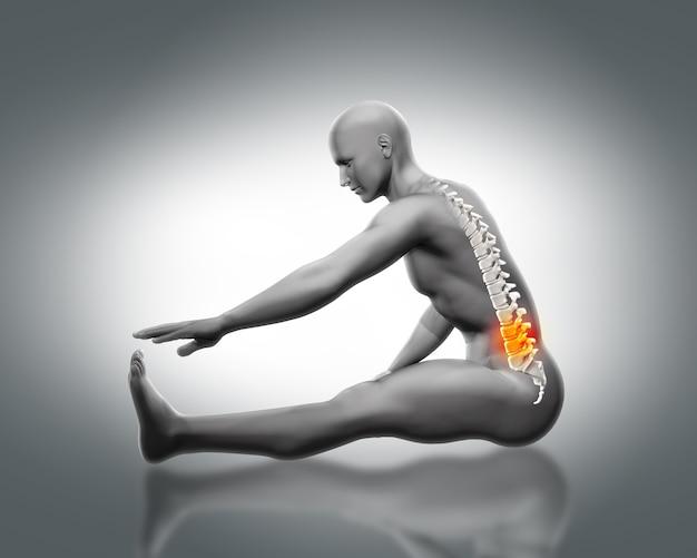 Pain in the lumbar