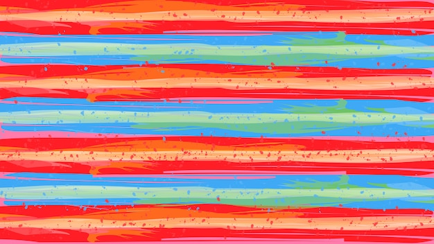 Paint brush colorful texture design abstract background