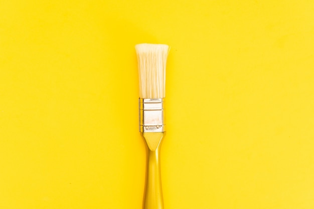 Paint brush isolated with clipping path