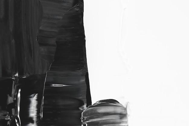 ブラシストロークの背景の壁紙、黒のブラシストロークの境界線をペイントします
