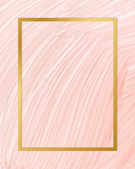 Paint texture backdrop frame