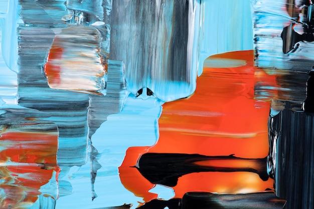 Dipingi la carta da parati del fondo di struttura, arte astratta in vernice acrilica