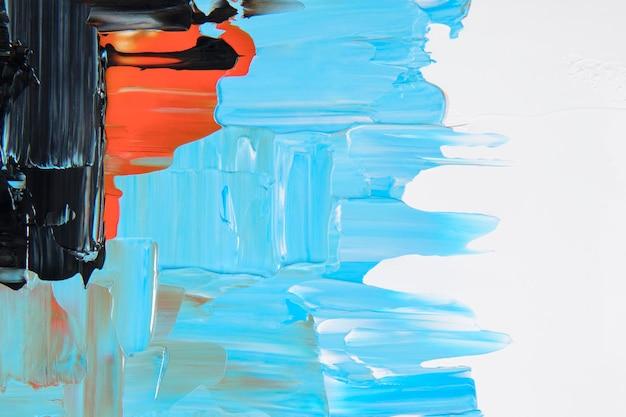 ペイントテクスチャ背景壁紙、アクリル絵の具で抽象芸術 無料写真