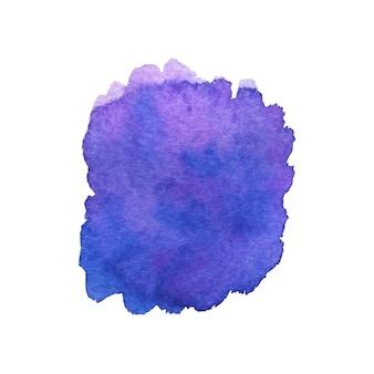 Painted brushstroke. watercolor painting texture.