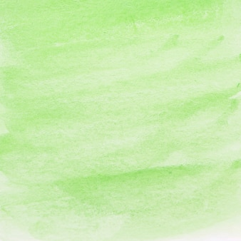 Painted green watercolor background