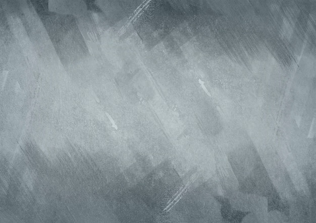 Painted grey background with metal texture