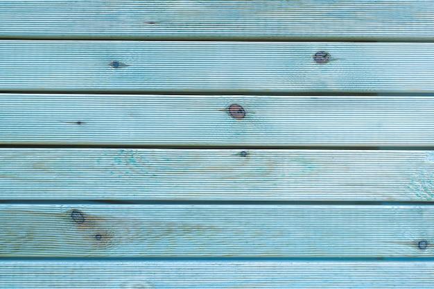 塗装済み完成品ティールブルーとグレーの素朴な木製ボード