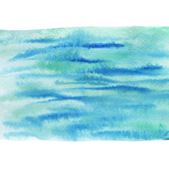 Painted sea background. watercolor painting texture.
