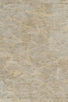 Painted white oriented osb chipboard texture.