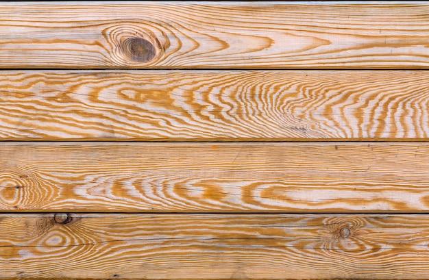 木製の板の背景を描いた。古い風化した木の質感。ロフトのインテリアに産業とグランジの壁。