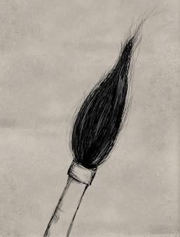Pennello di pittura