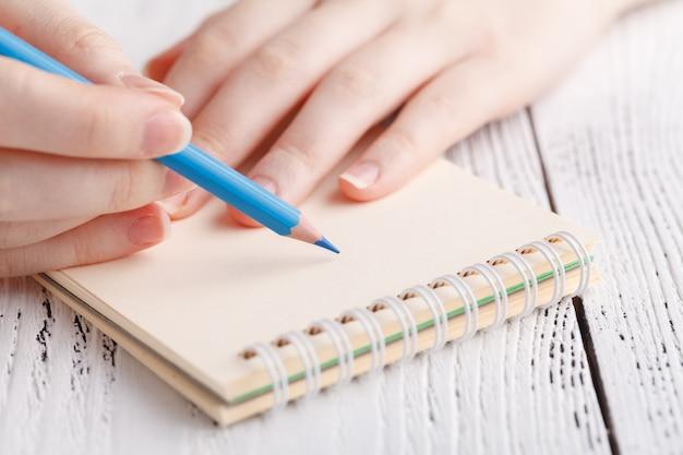 Painting in sketchbook