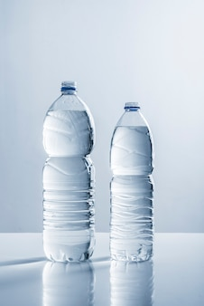 Pair of bottles of water