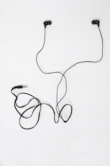 A pair or earbuds