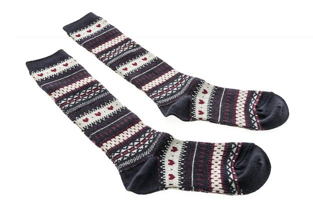 衣類のための綿の靴のペア