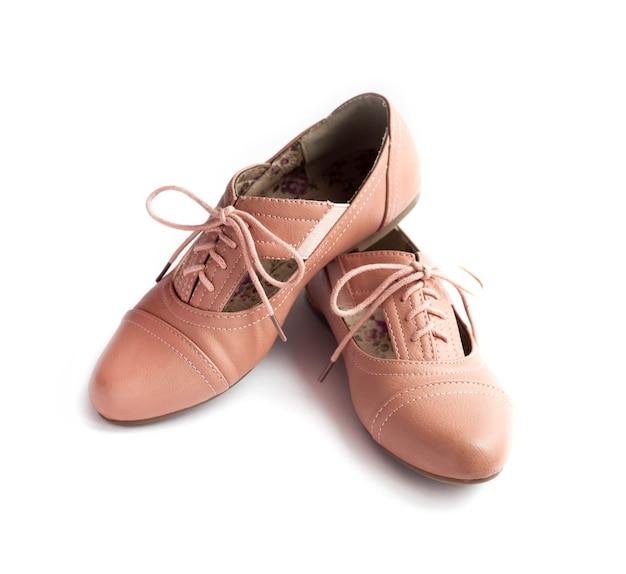 여성 신발 한 켤레