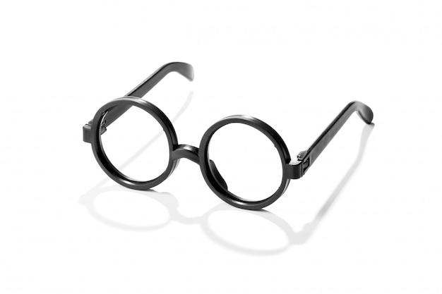 丸いヴィンテージプラスチック老眼鏡のペア