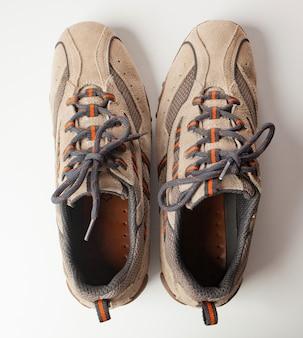 逆の靴のペア。 ocdの概念