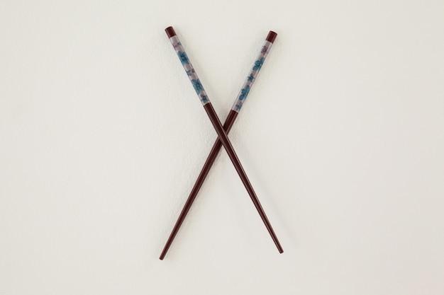 Pair of patterned chopsticks