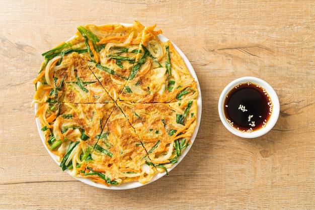 パジョンまたはチヂミまたはチヂミ-アジア料理スタイル