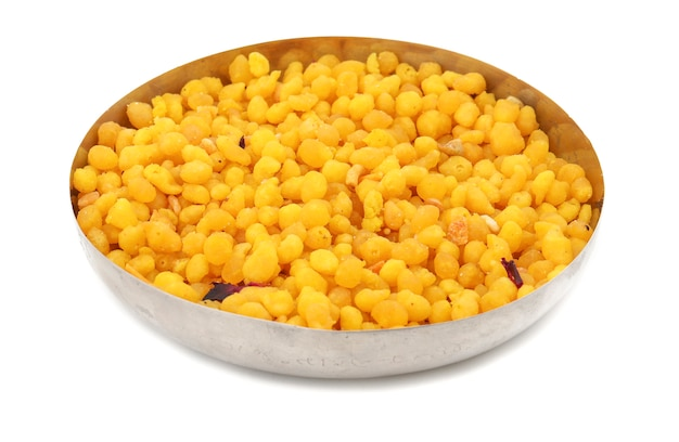 Pakori or bundi sweet
